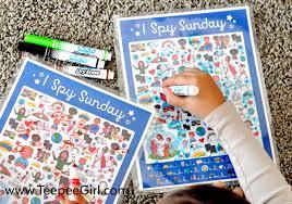 free i spy sunday printable game u0026 answer key www teepeegirl com
