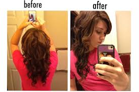 hair style loose curls finger wave type curls part the hair in