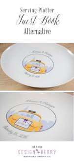 signable wedding platters these custom wedding maps are awesome guest book alternatives for