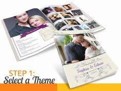 Magazine Wedding Programs Celebrate It Occasions Half Fold Program Paper Kit Ivory