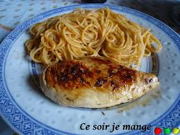 cuisiner des blancs de poulet poulet au citron et herbes de provence ce soir je mange