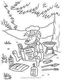 big bad wolf coloring page tim u0027s printables