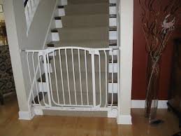 Banister Safety Baby Gates For Stairs With Metal Banisters Retractable Baby