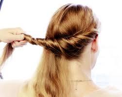 Hochsteckfrisuren Selber Machen Halblange Haare by Lange Haare Hochstecken Schnell