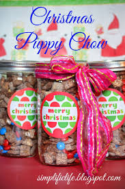 the simple life christmas puppy chow