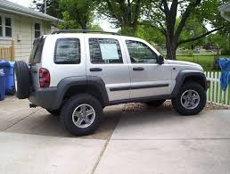 lifted jeep liberty try them on a gasser that you can lift more or go smaller for the