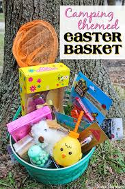 easter basket for cing easter basket for kids who to c