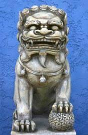 fu dogs foo dog history buddhist encyclopedia
