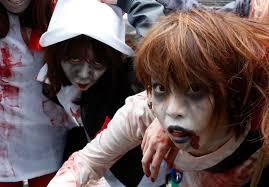 zombie jesus halloween costume march 31 photo brief easter sunday nelson mandela zombie walk