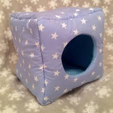 Cuddle Cup Dog Bed Guinea Pig Rat Hedgehog Cosy Bed Cuddle Cup Cube Fleece Winter