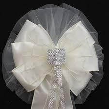 bows for wedding chairs wedding ideas pew 2 weddbook