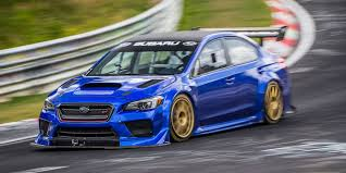 subaru modified subaru set a 6 57 ring time with a modified sti the chicago garage