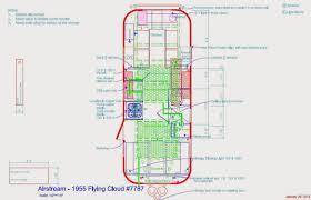 byam u0027s u002755 flying cloud air conditioner plan floor plan