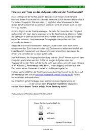 Praktikum Zusage Vorlage Praktikumsheft 2013 Pdf Flipbook
