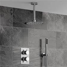 Bathroom Shower Set Fontana Series Ceiling Mount Ultra Thin Bathroom