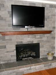 gas fireplace stone ideas home design ideas