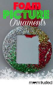 easy foam picture ornaments for preschoolers preschool