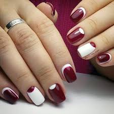 35 maroon nails designs maroon nails maroon nail polish and