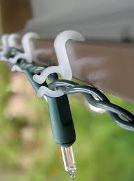 fresh decoration hooks for lights metal gutter gutters