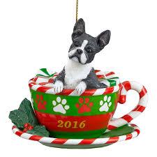 2016 annual boston terrier ornament the danbury mint
