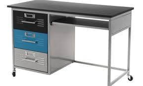 meuble caisson bureau meuble caisson de bureau coloris alu simmob dans caisson bureau noir