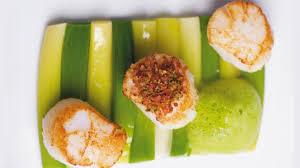 recette de cuisine m6 coquilles jacques jambon poireaux par stéphanie de top