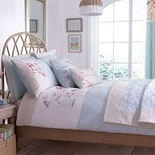 evelyn duck egg duvet cover bed linen linens and bed curtains
