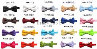 baby bow tie boys bowties mix solid color top quality 9 5cm