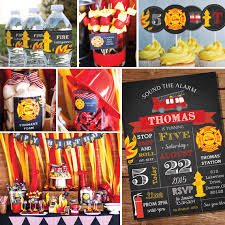 firefighter home decorations fireman party decorations firefighter birthday party decor