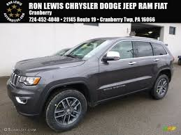 jeep grand cherokee 2017 grey 2017 granite crystal metallic jeep grand cherokee limited 4x4