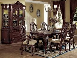 elegant formal dining room sets glamorous decor ideas elegant