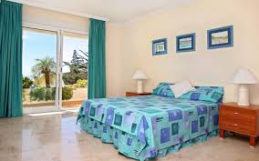 bedroom good looking blue bedroom decoration using light