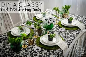 diy a classy saint patrick u0027s day party giant honeycomb garland