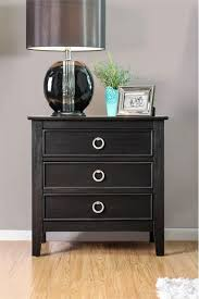 3 Drawer Nightstands Furniture Of America Mardon 3 Drawer Nightstand Wire Brushed