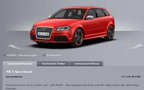 audi configurater audi rs3 configurator 2018 2019 car release and reviews