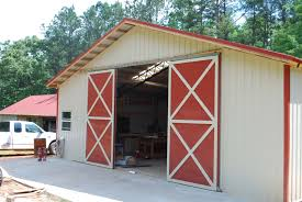 How Much Does It Cost To Build A Pole Barn House by Open Shelter And Fully Enclosed Metal Pole Barns Smith Built