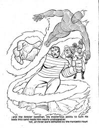 army coloring book jon u0027s random acts of geekery cbt fantastic four vs frightful