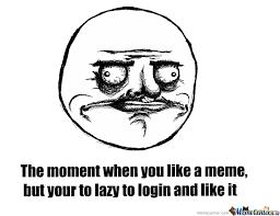 Meme Center Login - forgot to log in by vramone meme center