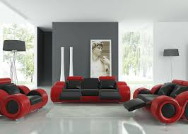 stylish recliner sofa amazing modern leather couches with two tone accents
