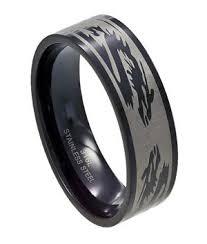 just men rings black stainless steel ring just men s rings