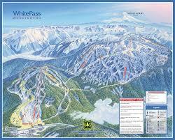 Colorado Ski Resort Map White Pass Trail Map Onthesnow