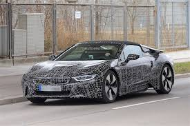 light green bmw bmw i8 spyder gets green light for 2015 production autoevolution