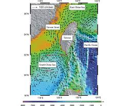 http www current and coastal geometry around taiwan vectors show mean ocean