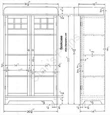 Mission Bookcase Plans Printable Plans For A Bookcase
