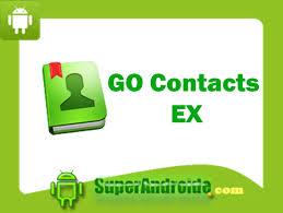 go contacts ex apk aplicación go contacts ex para android apk superandroide