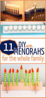 11 diy menorahs for the whole family