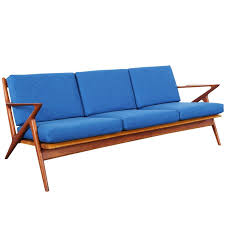 Danish Modern Teak Z Sofa By Poul Jensen At Stdibs - Danish sofas