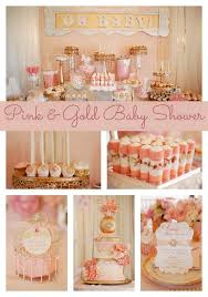 pink gold baby shower pink and gold baby shower ideas best 25 gold ba showers ideas on