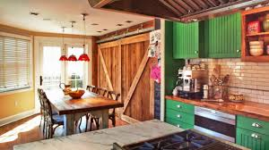 create a beautiful interior design with old barn doors youtube