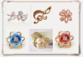 fashion jewelry brooch pins and fashion ornaments jewellery